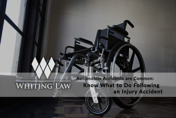 Automobile Accidents are Common: Know What to do Following an Injury Accident