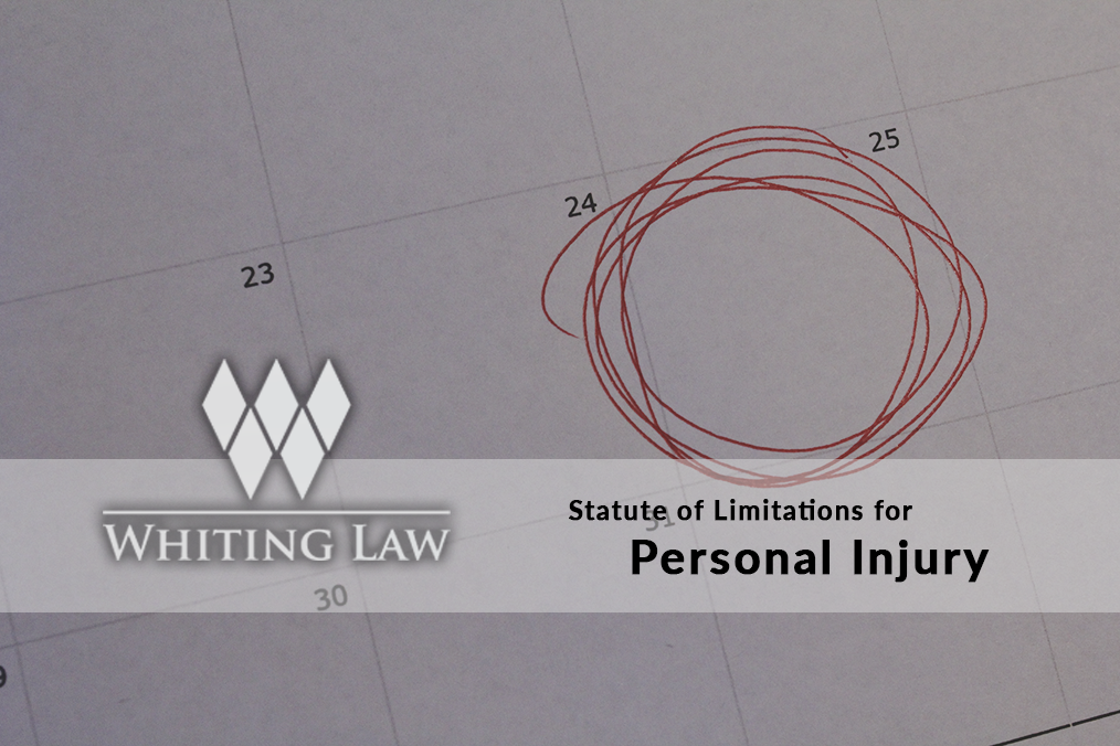 Statute of Limitations for Personal Injury