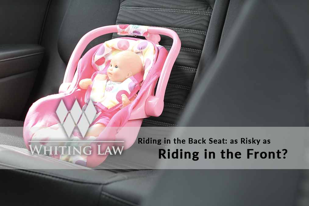 Riding in the Back Seat: As Risky as Riding in the Front?
