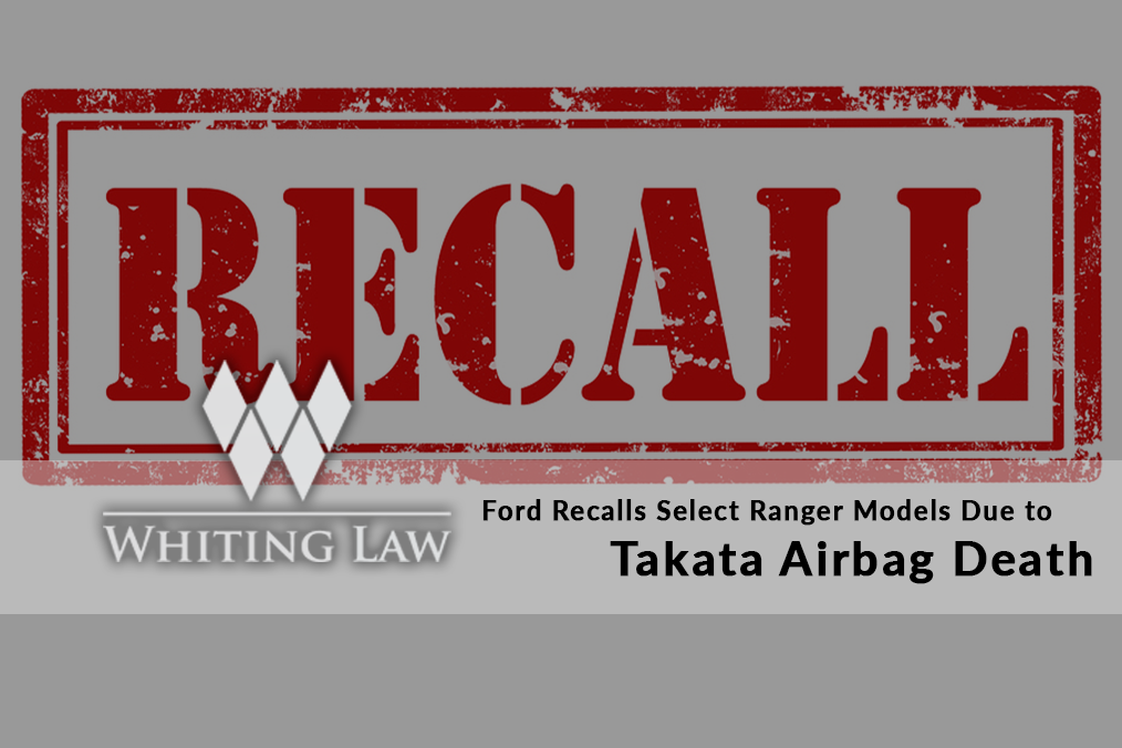 Ford Recalls Select Ranger Models Due to Takata Airbag Death