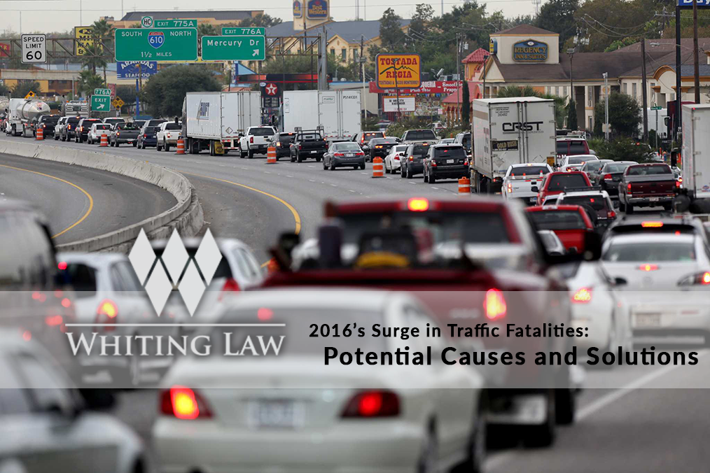 2016's Surge in Traffic Fatalities: Potential Causes and Solutions