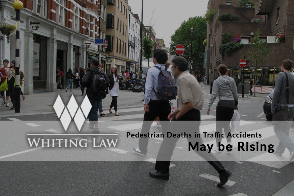 Pedestrian Deaths in Traffic Accidents May Be Rising