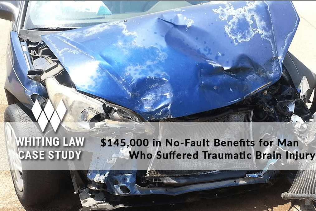 $145,000 in No-Fault Benefits for Man Who Suffered Traumatic Brain Injury
