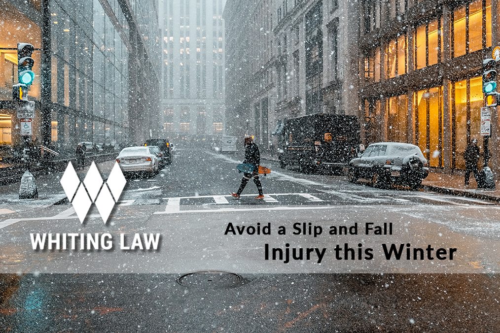 Avoid a Slip and Fall Injury this Winter