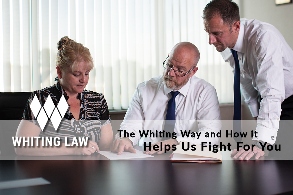 The Whiting Way and How it Helps Us Fight for You